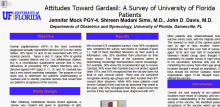 Attitudes Toward Gardisil: A Surgey of University of Florida Patients Poster Photo